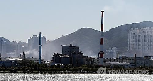 신평·장림공단 [연합뉴스 자료사진]