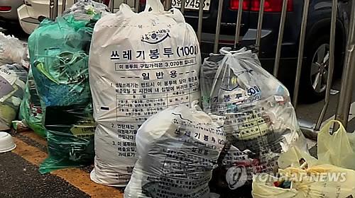 '종량제 봉투도 다문화 시대' 광주 광산구 외국어 표기 추진