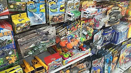 쏟아지는 중국산 장난감…4년간 수입량 두 배 '껑충'