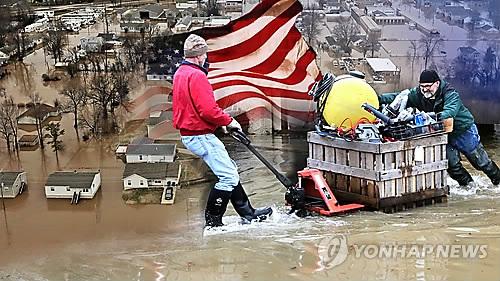 기후변화에 따른 극단적 기상에 우려(CG)[연합뉴스 자료사진]