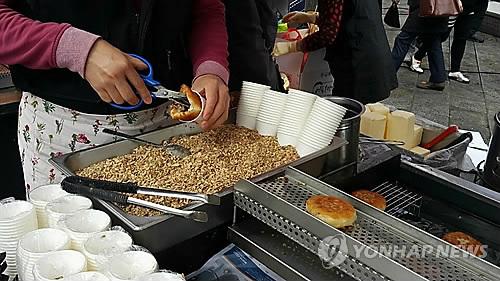 부산 씨앗호떡 [연합뉴스 자료사진]