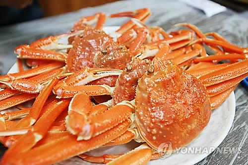 대게 [연합뉴스 자료사진]