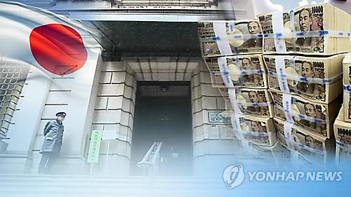일본은행, 기준금리 -0.1% 동결 (CG)  [연합뉴스TV 제공]