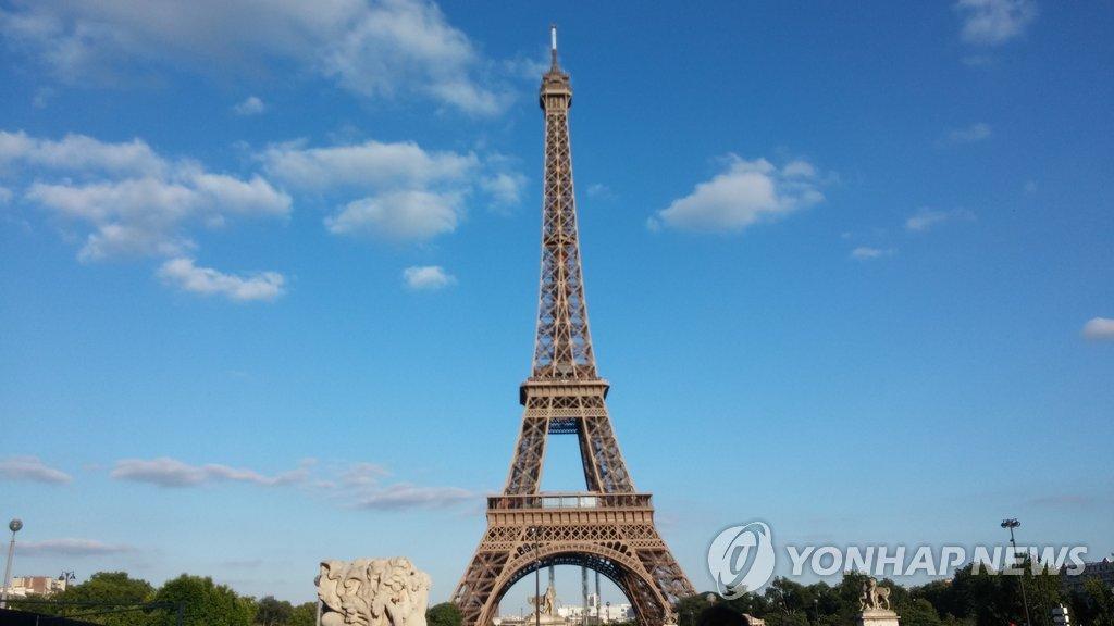 파리 에펠탑 [연합뉴스 자료사진]