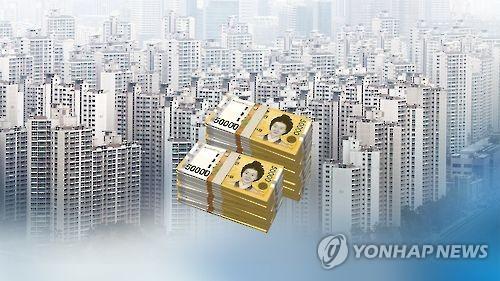서울 아파트값 (CG) [연합뉴스TV 제공]