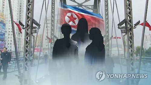 북한식당 종업원 잇단 탈출 소식에 북중접경 '불안'(CG)