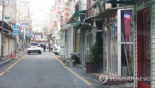 수원역 앞 집창촌[연합뉴스 자료사진]