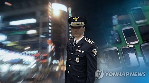 단속정보 흘린 경찰(CG)