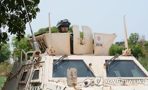 PKO 파견된 일본 육상자위대