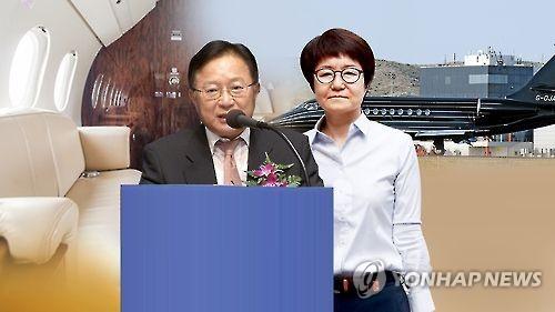 송희영 전 주필과 박수환 전 뉴스커뮤니케이션 대표(CG)