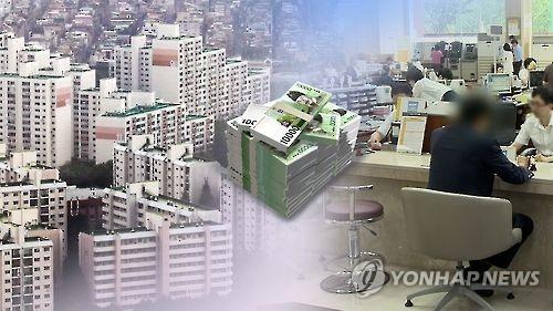 가계대출(CG)[연합뉴스TV 캡처]