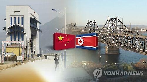 북중교역 본격 회복세…中 10월 대북수입 28%↑(CG)