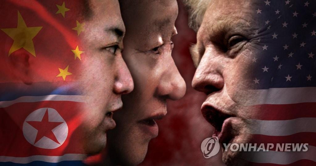 트럼프 정부, 대북-대중 투트랙 압박 (PG)