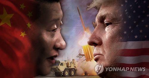미국 트럼프-중국 시진핑 사드 갈등 (PG)