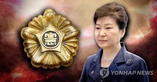 박 전 대통령, 사실상 '헌재 불복' (PG)