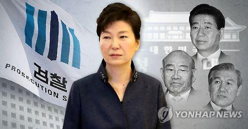 검찰, 박근혜 전 대통령 소환방침. 역대 4번째 대통령 검찰 조사 (PG)