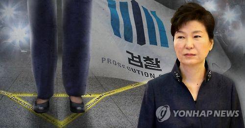 박 전 대통령, 검찰 포토라인 설까? (PG)