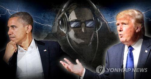 트럼프 주장, '오바마 도청' 의혹 논란 (PG)