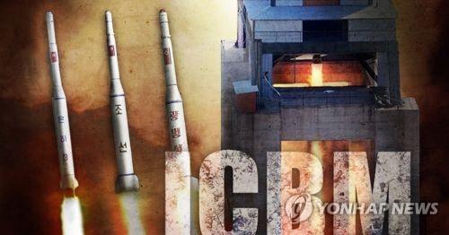 북한 신형 고출력 로켓엔진 시험 ICBM (PG)