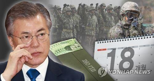 문재인 정부 병사 복무 기간 단축 및 병력 감축 핫 이슈(PG)