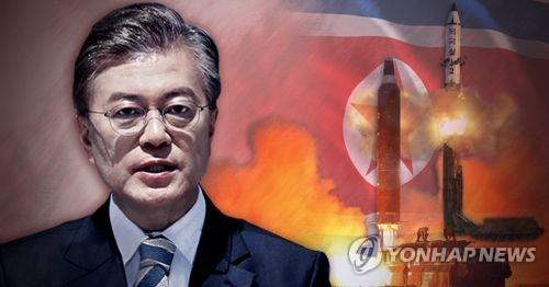 문재인 대통령 북 미사일 도발에 엄중 경고 (PG)