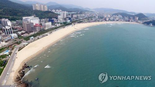 부산 송정해수욕장