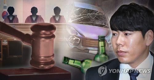 '음주 삼진아웃' 강정호, 2심도 징역형 집유 (PG)