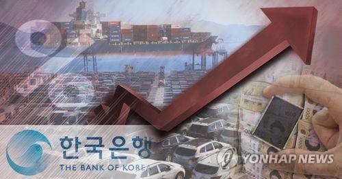 韓国銀行が今年の成長率見通しを発表した(コラージュ)=(聯合ニュース)