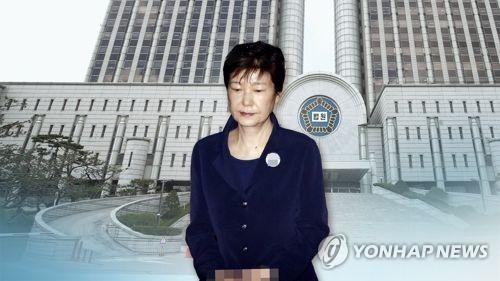 '국정원 뇌물' 박근혜 전 대통령 재산 동결 결정(CG)