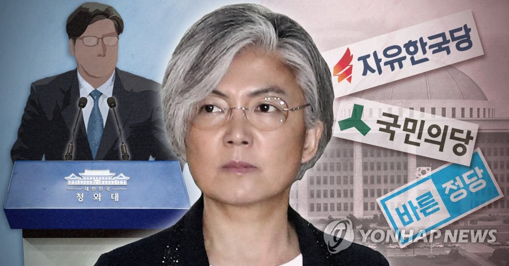 청와대, 강경화 청문보고서 국회 채택 요청 (PG)