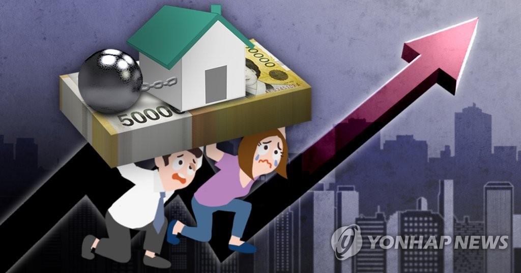 가계부채 고위험가구 급증 (PG)