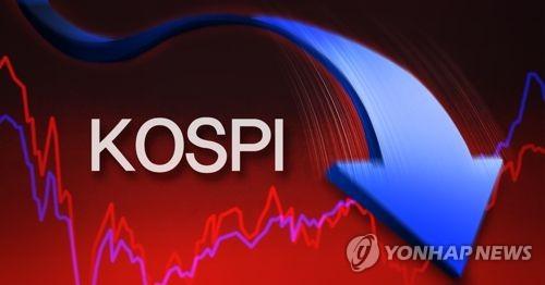 코스피 하락 (PG)  [제작 조혜인]