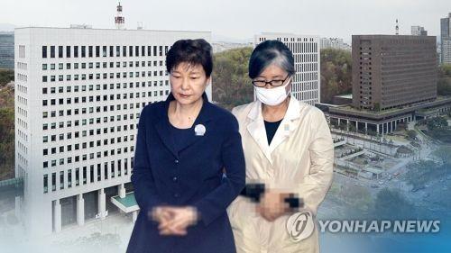 박근혜 선고 '미리보기' 최순실 1심… 공소사실 대부분 동일