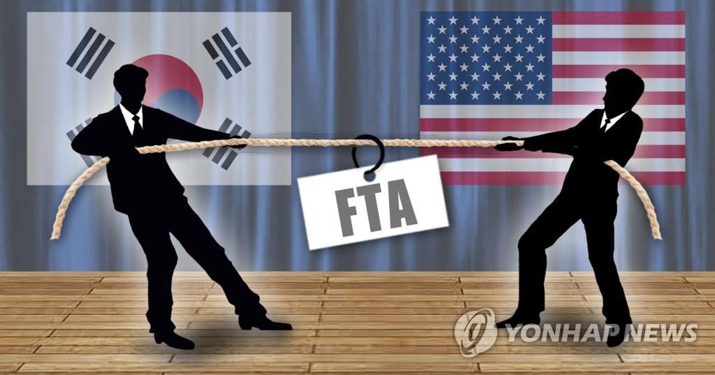 한미 FTA 재협상 줄다리기(PG)
