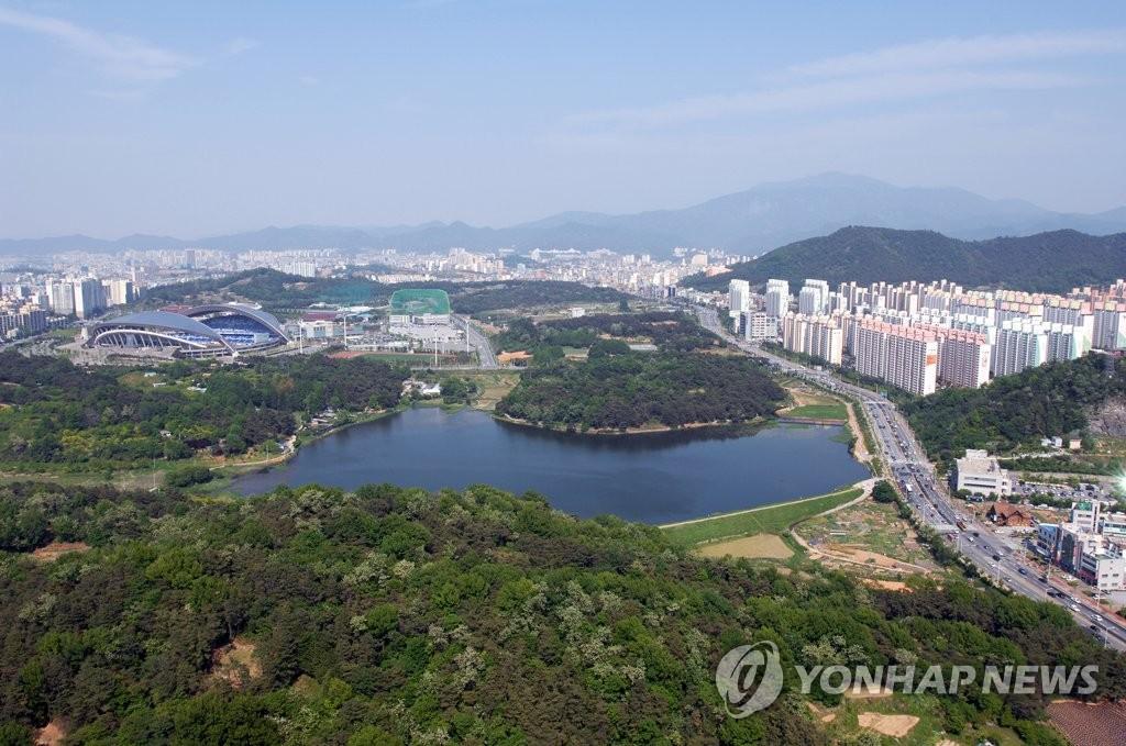 광주 중앙공원 [연합뉴스 자료사진]
