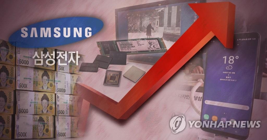 삼성전자 영업이익 상승 (PG)  [제작 최자윤]