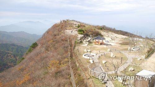 大邱八公山(韩联社)