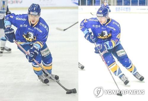 아이스하키 김기성-김상욱 형제 KHL 이적 불발, 안양 한라 잔류