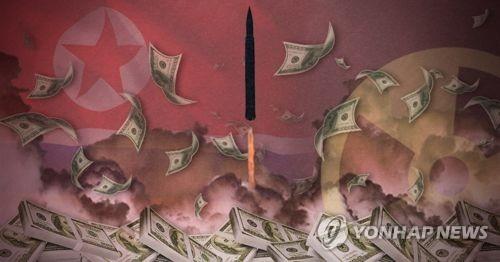 북한 미사일 발사와 핵실험 자금은 어디서 나오나 (PG)