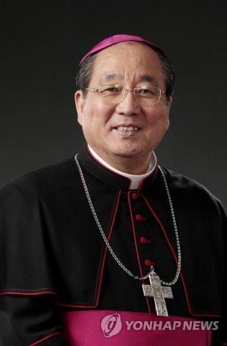 한국천주교주교회의 민족화해위원회 위원장 이기헌 주교