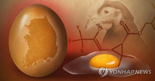 국민 1인당 연간 '살충제 계란' 12.5개 먹었다