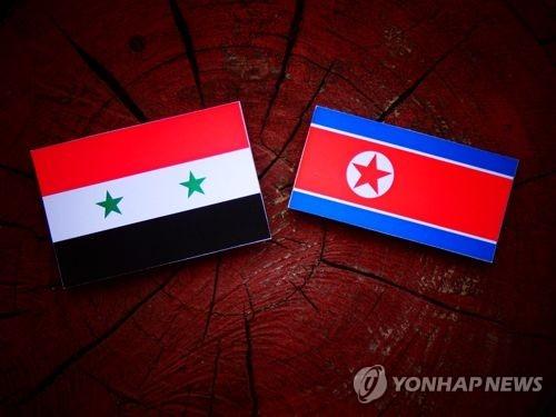북한과 시리아