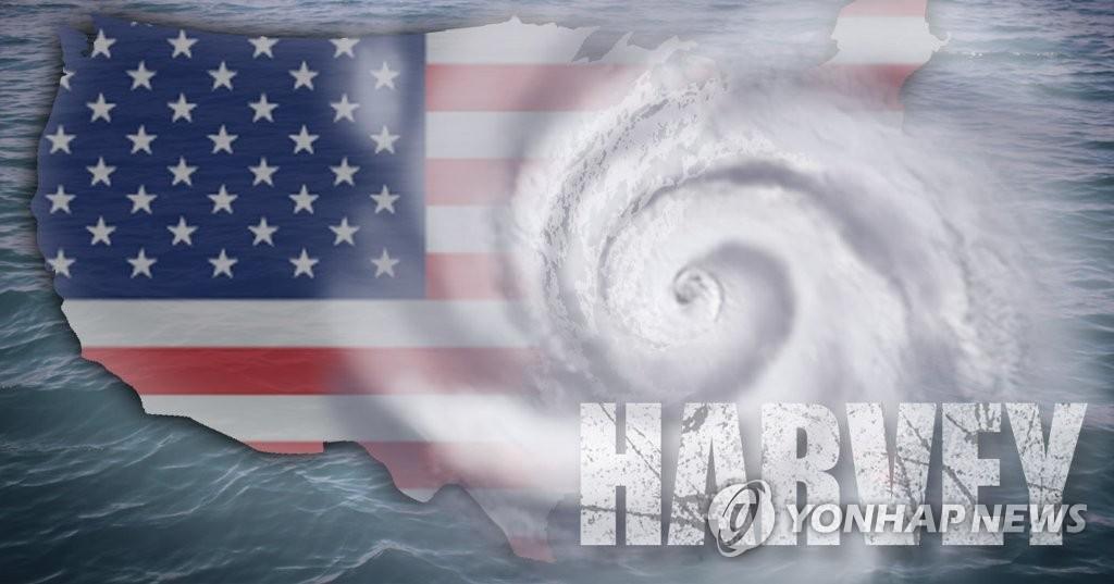 미국, 허리케인 '하비' 피해 속출(PG)