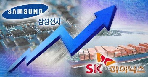 삼성·SK하이닉스 영업이익 상승 (PG)  [제작 조혜인] 합성사진