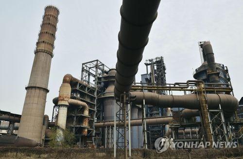 중국 공장