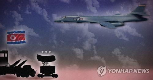 북한, B-1B 무대응 (PG)