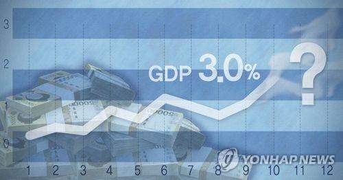 IMF, 한국 성장률 전망 또 상향…3% 목표 달성하나 (PG)