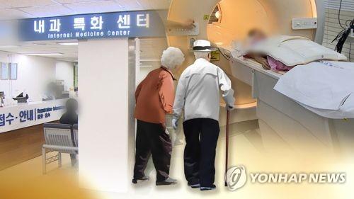 노인 의료비 (CG)  [연합뉴스TV 제공]