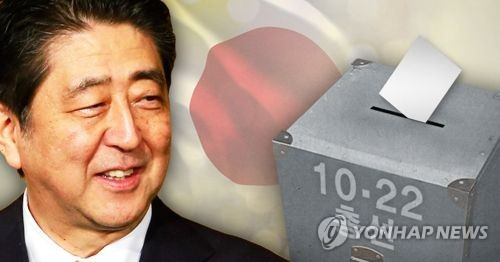 日아베, '북풍몰이' 전략 먹혔다…야권분열 틈타 총선 '압승'