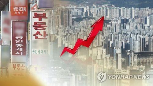 서울 아파트 매수우위지수 상승 (CG)